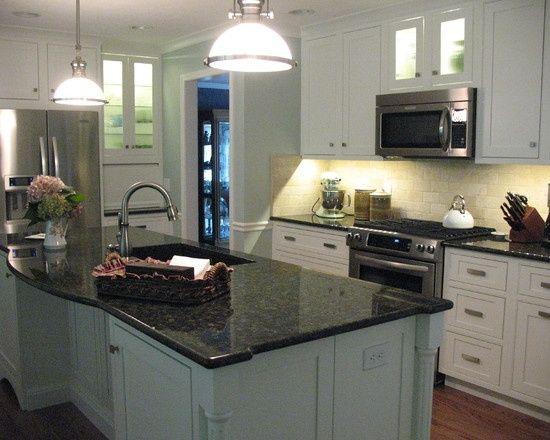 uba tuba granite with white cabinets | uba tuba granite ...