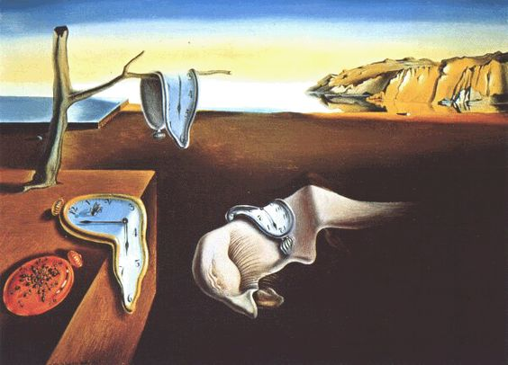 Salvator Dali - Die Beständigkeit der Erinnerung 1931