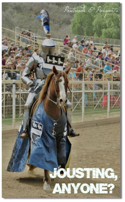 Bet you didn't know there's an international jousting tournament just outside of San Diego every year! It's a competition and history lesson all rolled up in one...and you can attend!