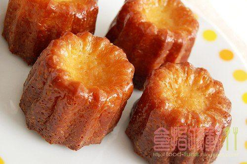 [烘焙菜鳥日誌] 法國波爾多傳統甜點「可麗露」之買不起昂貴的銅模!!! ~ 食指大動%Food-Funs