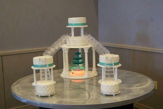 Love this cake design