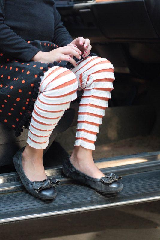 Ruffle Leggings
