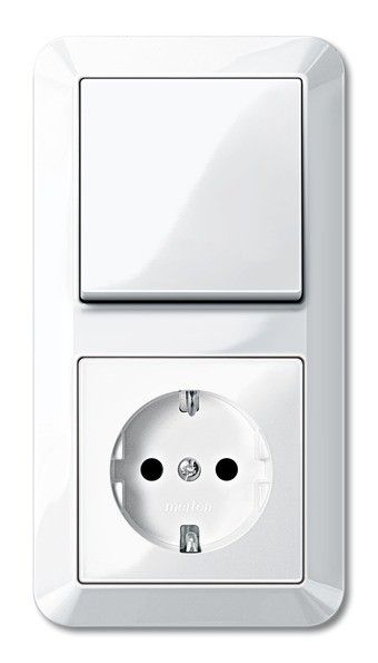 Schalter-Steckdosen-Kombination