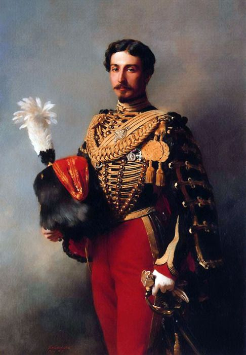 Édouard André, 1857, by Franz Xaver Winterhalter (German, 1805-1873). Oil on canvas. Private collection.: