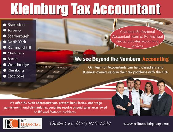 Tax Accountant in Kleinburg| Brampton | Toronto | Vaughan