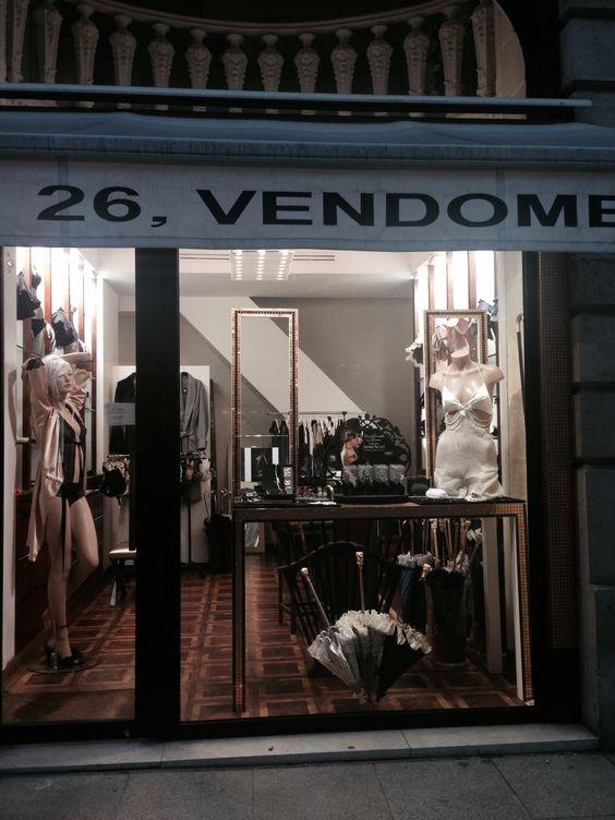 KS Paris lingerie at Place Vendôme