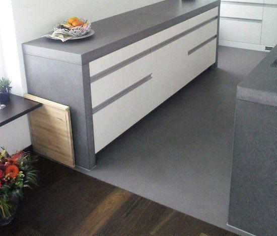 Piani di lavoro |  cemento Componenti per cucina | Kitchen | OGGI Beton.