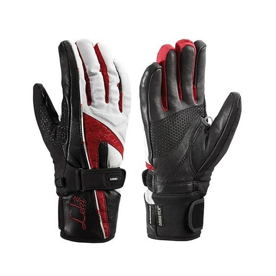 """Mellow S (berry)   633-84552    Available in sizes: XS - L  NY Celltech softshell/Goat Skin body, Goat Skin palm, Micro Bemberg wicking lining, Hyperloft insulation and Gore-Tex.  Softshell ski glove. Full leather palm and fingers. Gore-Tex.  """"Slim Cut"""" design for women provides exceptional fit. Primaloft/Polarfleece insulation and Gore-tex provides ultimate warmth and dry hands.    Retail Price: $149.95"""