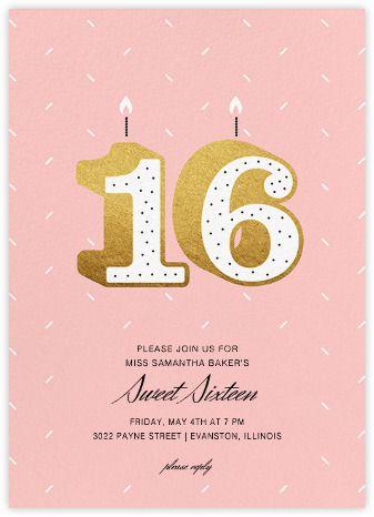 Sixteen Candles - Paperless Post