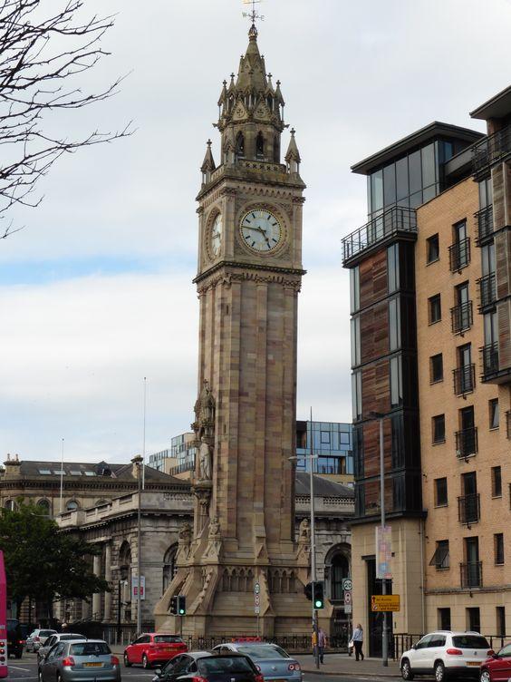 Albert Memorial Clock, Belfast, Northern Ireland