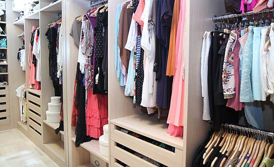 ByCelina's walk in wardrobe.