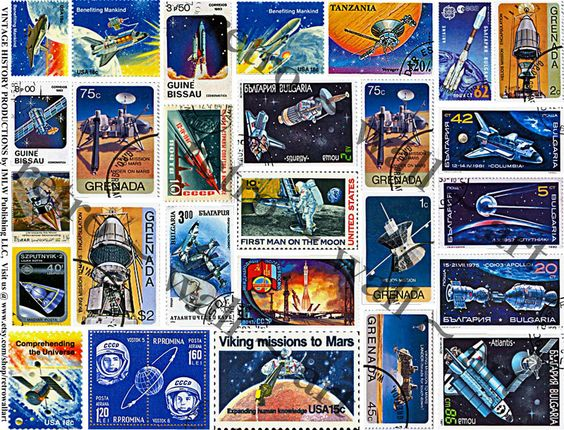 stamps from space nasa - photo #36