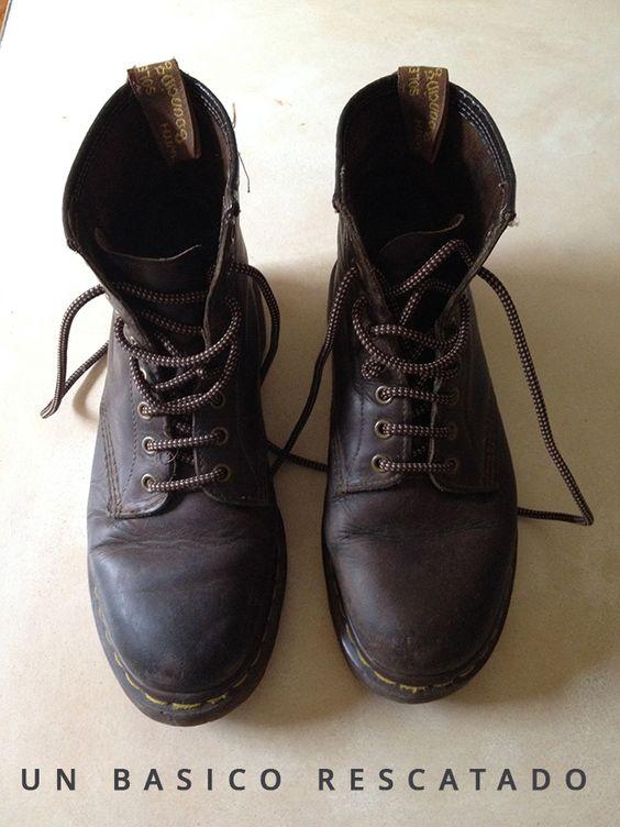 Rescatando un clásico: mis botas Dr. Martens | dommuss