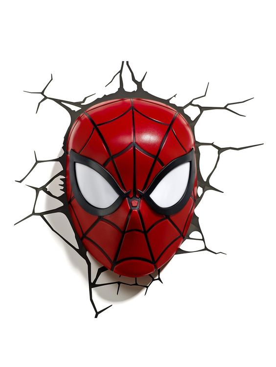 Spiderman Marvel 3D Light - Spiderman, http://www.very.co.uk/spiderman-marvel-3d-light-spiderman/1458388710.prd