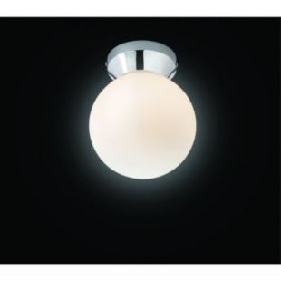 Wickes Aquo Semi Flush Bathroom Ceiling Light | Wickes.co.uk
