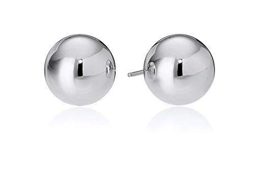 Sterling Silver 7mm Ball Stud Earrings - CHECK IT OUT @ http://www.finejewelry4u.com/jew/100295/150720