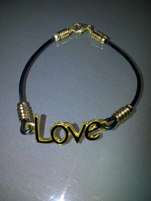 Love cuero negro