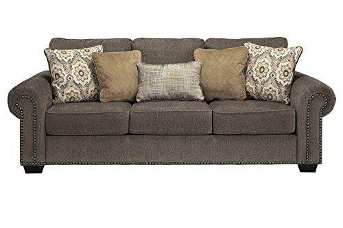 Benchcraft Emelen Contemporary Sofa Sleeper Queen Size Bed