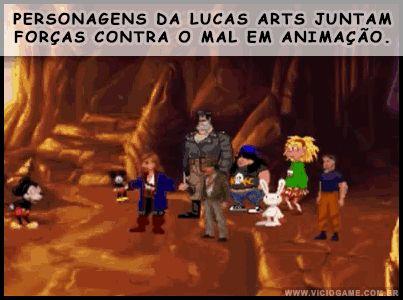 Personagens da Lucas Arts juntam forças contra o mal em animação: http://wp.me/p90oS-iB