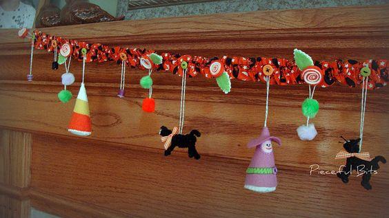 halloween garland along | Flickr - Photo Sharing!