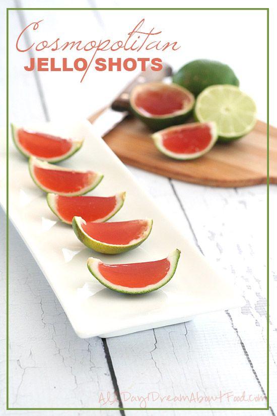 Low Carb Sugar-Free Cosmopolitan Jello Shots - a fun treat for a hot ...