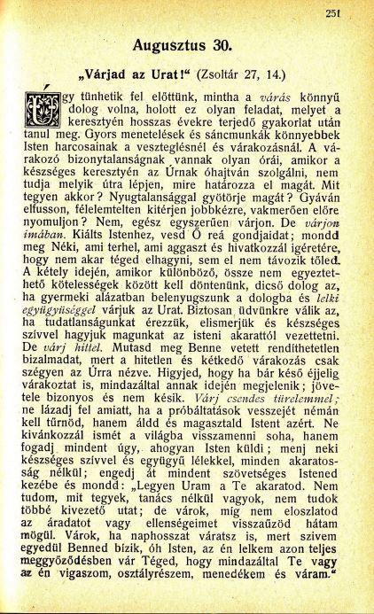 08.30. Spurgeon: Harmatgyöngyök ...