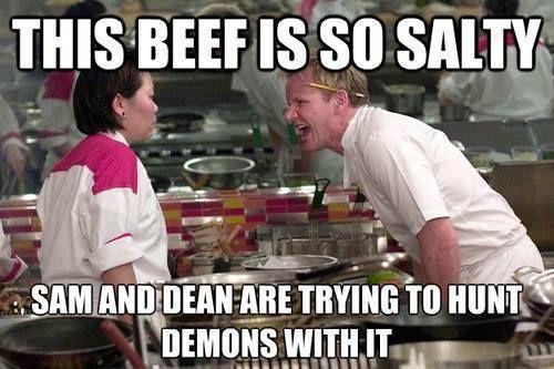 Gordon ramsay meme beef