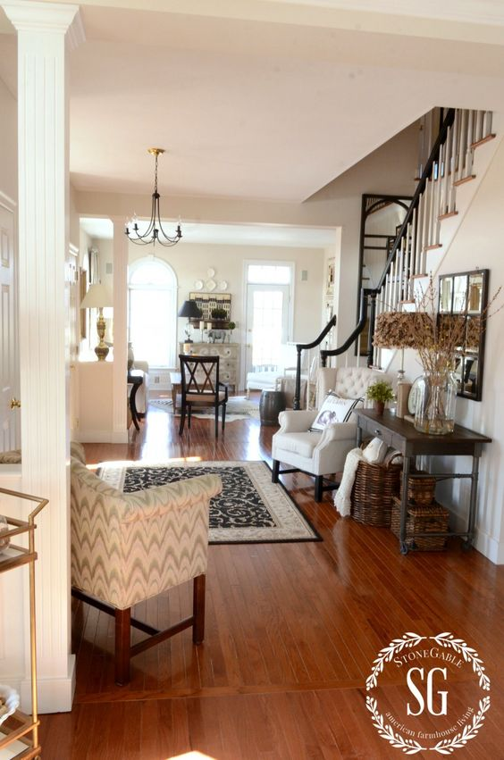 Foyer Living Room Furniture Poses : A new chair decor entryway chairs and open