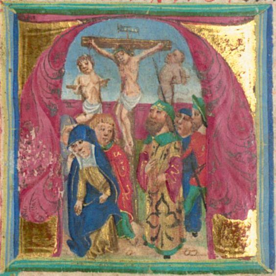 Furtmeyr, Berthold: Buchmalerei der Renaissance Gebetbuch - BSB Cgm 125,  Regensburg, 15. Jh. Folio 198
