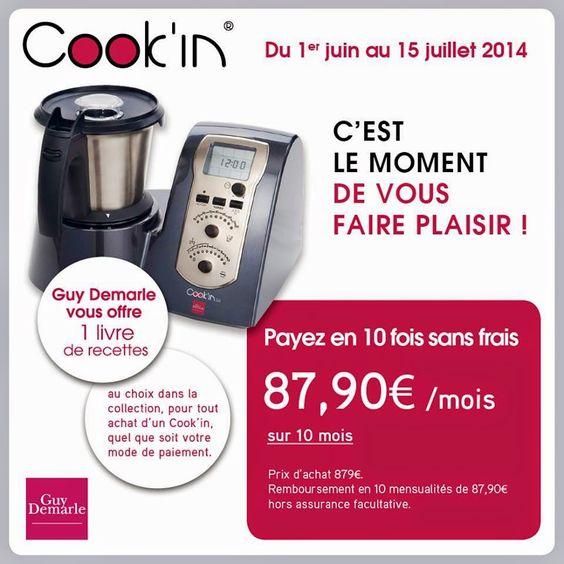 LA DÉTENTE AUX FOURNEAUX: LE COOK'IN EN 10 FOIS SANS FRAIS..EN 15 JOURS POUR...