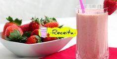 Vitamina de Morango com leite de coco