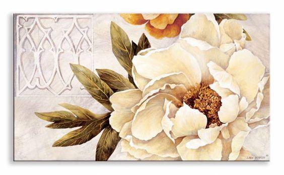 8743 / Cuadro Summer Fresh Poppies II / Linda Thompson