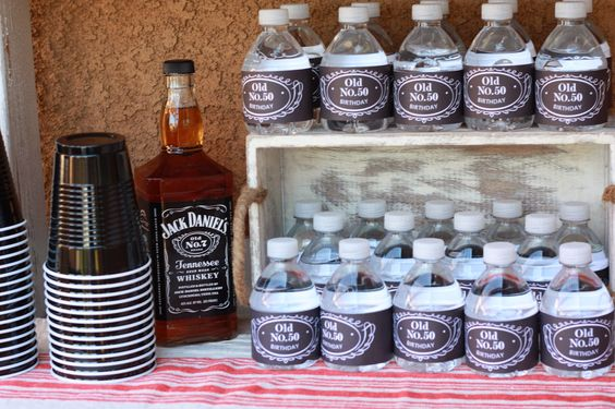 jack daniels party theme | love that Ryann created a private Pinterest board that I had access ...