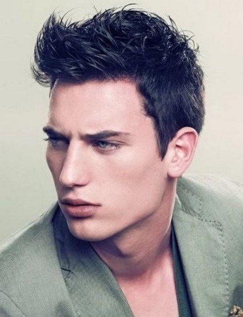 Amazing Top Mens Hairstyles Bangs And Fringes On Pinterest Short Hairstyles Gunalazisus