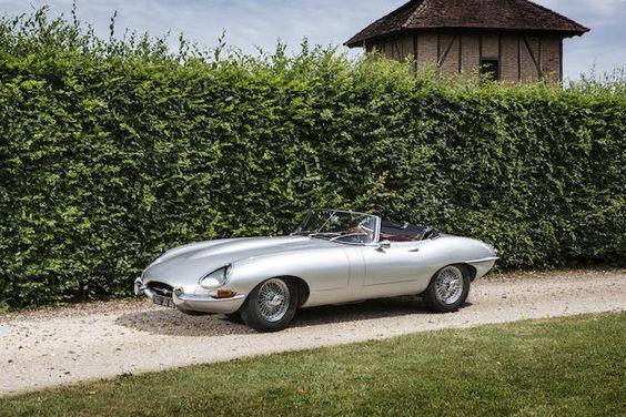 Jaguar Type E 4.2 litres Série 1 Roadster 1965