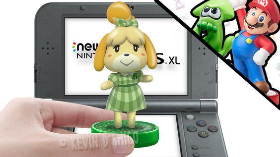 AMIIBO Animal Crossing New Leaf - Nintendo 3DS New 3DS - YouTube