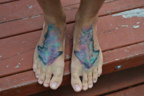 I like the colours.  by Liam Queeney at White Crane Tattoos inCincinnati Ohio.