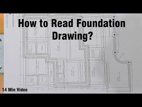 How To Read Foundation Drawing Youtube Foundation Reading Lesson