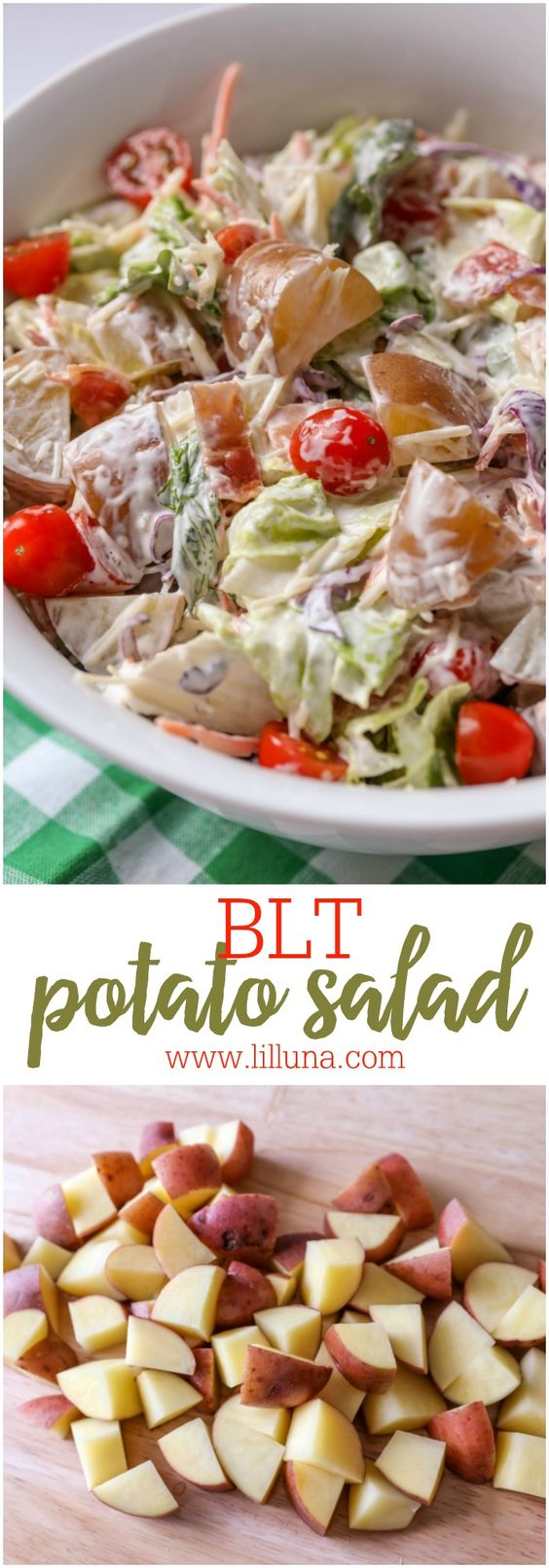 salad potatoes potatoes bacon and more potato salad lettuce and tomato ...
