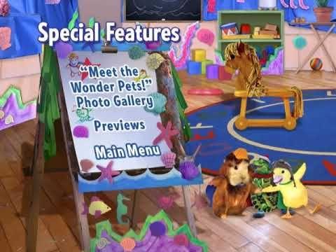 Wonder Pets Save The Wonder Pets Dvd Menu Walkthrough Youtube In 2020 Wonder Pets Pets Wonder