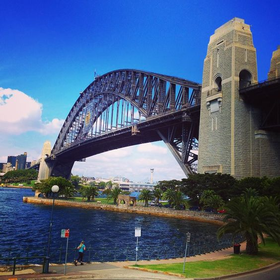 The iconic structure #sydneyharbourbridge by jcmnz http://ift.tt/1NRMbNv