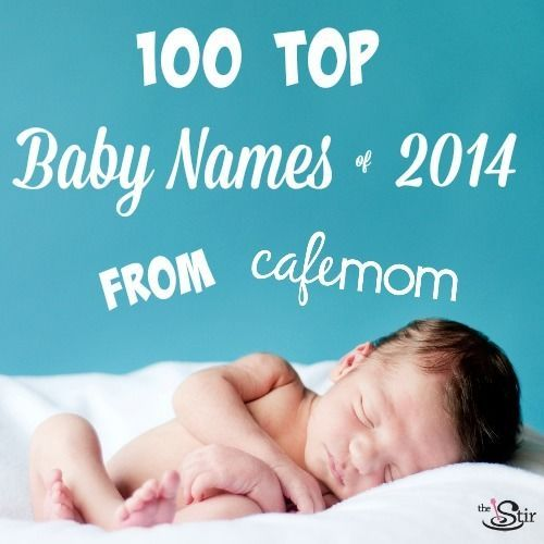 100 Hottest Baby Names of 2014 From CafeMom | Love #1 on the girls' list!