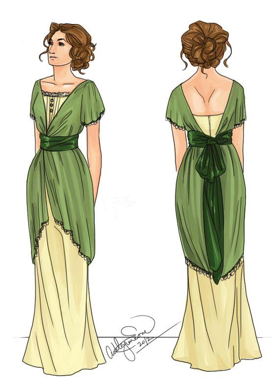 1910s Style Dresses