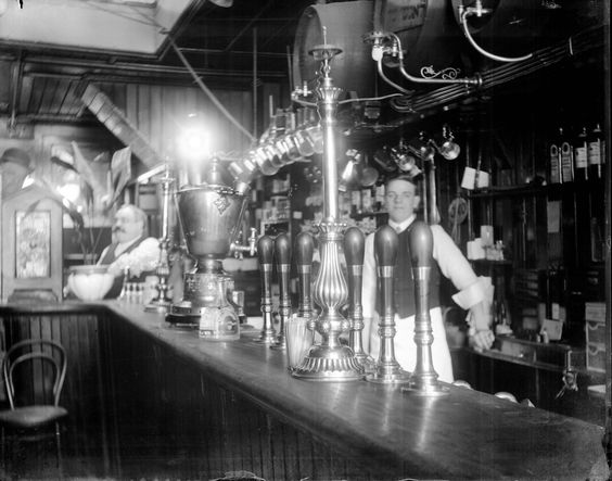 a drink by gas light