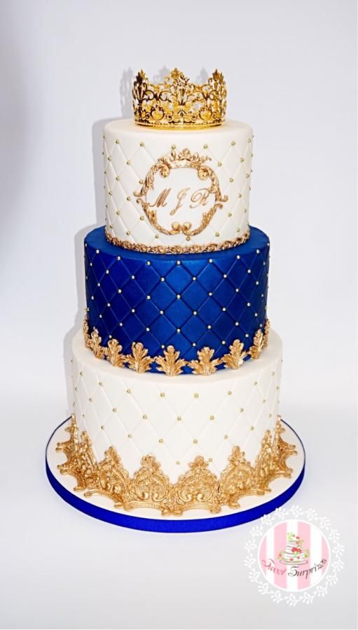 A Royal Cake For A Little Prince By Sweet Surprizes With Images