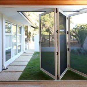Bi Fold Screen Patio Doors Folding Patio Doors Exterior Screen Doors Patio Doors