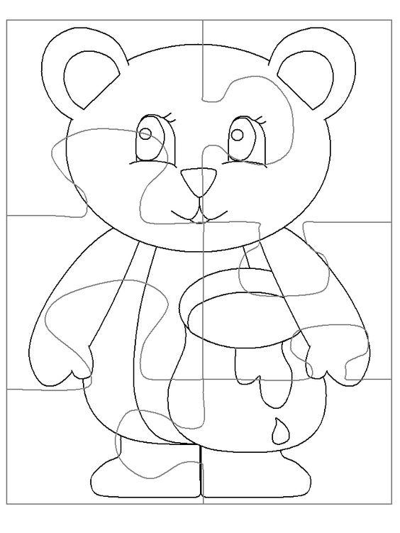Printable Jigsaw Puzzle Template | الموضوع: Printable Jigsaw ...