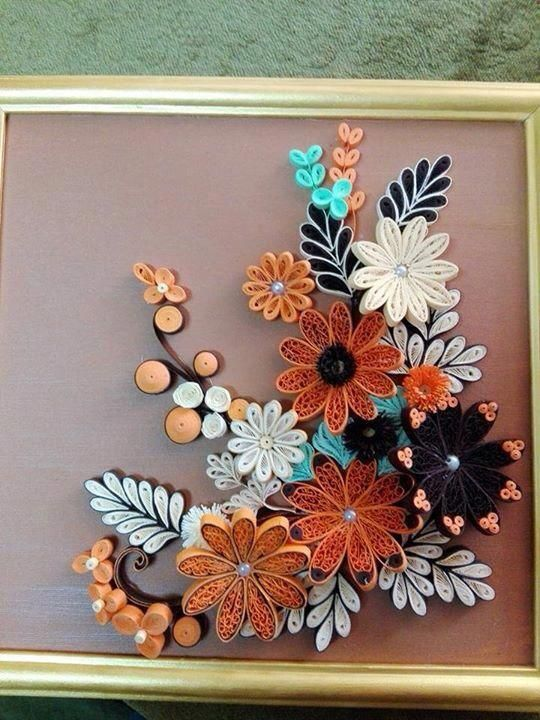 Simple Paper Quilling Idea Quilling Flowers Paper Quilling
