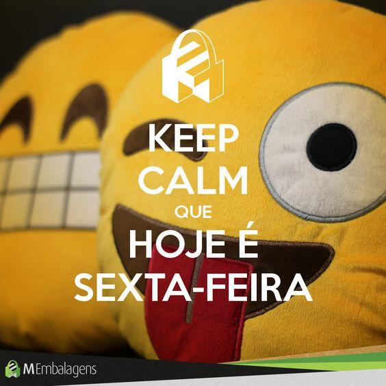 Keep Calm que Hoje é Sexta-Feira!