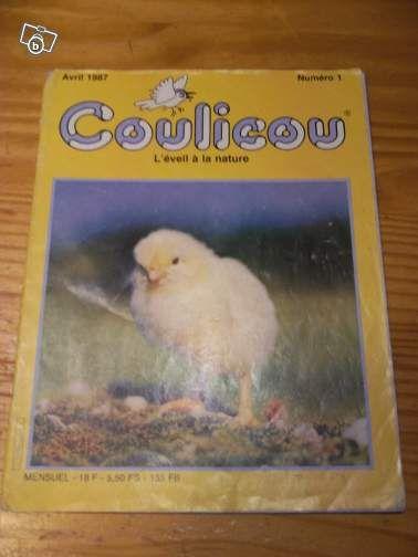 La revue Coulicou. J'étais tellement fière d'aller l'acheter moi-même à pied au dépanneur du coin!